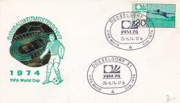 Germany Cover 1974 World Cup Football FIFA - Düsseldorf  (DD5-11) - Coppa Del Mondo