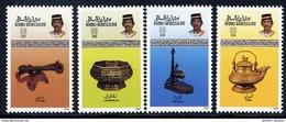 BRUNEI 1987 Brassware MNH / **.  SG 404-07 - Brunei (1984-...)