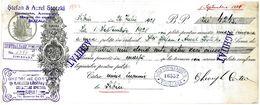 Romania, 1928, Vintage Cheque Order / Promissory Note - Timisoara - Cheques & Traverler's Cheques