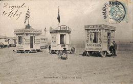 59 - Malo Les Bains - Les Bains (cabines, Bureau Animée, 1909) - Malo Les Bains
