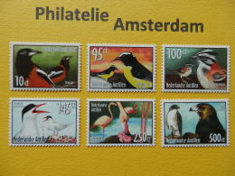 Netherlands Antilles 2004, FAUNA BIRDS OISEAUX VOGELS VÖGEL AVES: Mi 1338-43, ** - Unclassified
