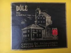 4938 -  Dôle Du Caveau Salquenen Valais  Suisse - Etiquettes