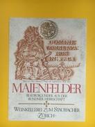 4946 - Maienfelder Blauburgunfer Grisons Suisse - Etiquettes