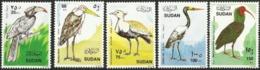 SUDAN 1990 Birds, Fauna MNH - Sudan (1954-...)