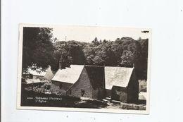 TREBABU (FINISTERE)  2932 CARTE PHOTO L'EGLISE - France