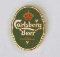 1 Pin's BIERE - CARLSBERG BEER Signé SUCCES - Bier