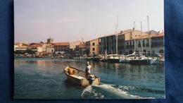 CPM MEZE 34 LE PORT  BATEAUX A VOILES ET A VAPEUR VUE GENERALE DU PORT ED CERCLE DES CARTOPHILES EXPO 1990 - Mèze