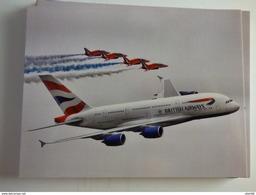 AIRBUS  A 380   BRITISH AIRWAYS ET LES RED ARROW - 1946-....: Modern Era