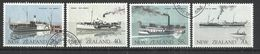NEW ZEALAND 1984 - FERRY BOATS - CPL. SET - OBLITERE USED GESTEMPELT USADO - Bateaux