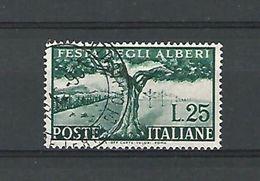 1951 N° 619  Arbre Séculaire Et Reboisement  Oblitére Dos Charniere - 6. 1946-.. Republik