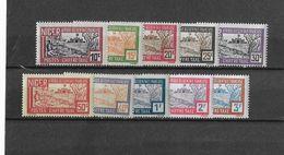 ⭐ Niger - Taxe - YT N° 12 à 21 ** - Neuf Sans Charnière - 1927 ⭐ - Unused Stamps