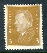 "1928 Germany MNH OG 3 Pfg. Stamp Of President ""Ebert"" Michel # 410 - Germany"