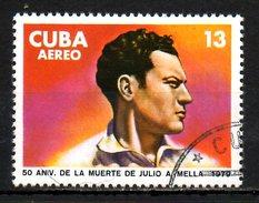CUBA. PA 311 Oblitéré De 1979. J. A. Mella. - Poste Aérienne