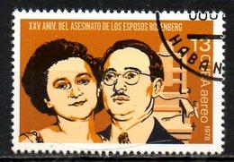 CUBA. PA 310 Oblitéré De 1978. Epoux Rosenberg. - Poste Aérienne