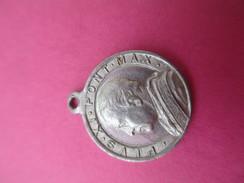 Petite Médaille Religieuse Ancienne /Pie XI/ San Guiseppe//1922-1939    CAN451 - Religion & Esotericism