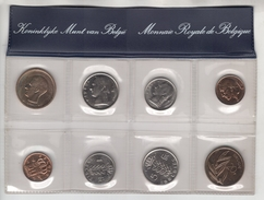 Belgique. Série FDC De 1980. 8 Monnaies (4 Fr + 4 FL) - 1951-1993: Baudouin I