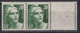 FRANCE 1945 - PAIRE Y.T. N° 728  -  NEUFS** /Y159 - Unused Stamps