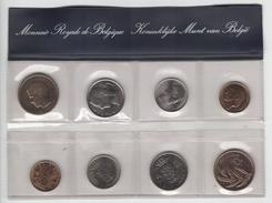 Belgique. Série FDC De 1981. 8 Monnaies (4 Fr + 4 FL) - 1951-1993: Baudouin I