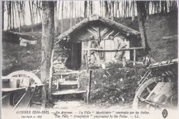 D 236  CP     EN ARGONNE GUERRE 1914 1918 LA VILLA MONTPLAISIR CONSTRUITE PAR LES POILUS - Champagne-Ardenne