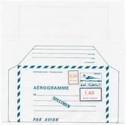 Cours D'instruction Aérogramme SPECIMEN_P 2 - Instructional Courses