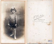 Fillette - Photo Gustave Ouvière Marseille (98921) - Personnes Anonymes