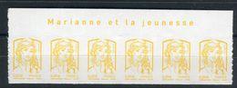 France - N° Yvert Adhésifs 847 Bande De 6 Haut De Feuille , Neufs Luxe - Ref V69 - Advertising