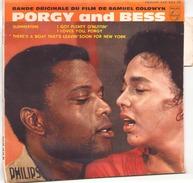 45 TOURS BOF PORGY AND BESS PHILIPS 429665 SUMMERTIME / I GOT PLENTY O NUTTIN / I LOVE YOU PORGY + 1 - Filmmusik