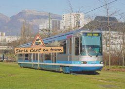Rame TFS Alsthom Du Tramway De Grenoble, à Echirolles (38) - - Echirolles