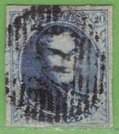 MiNr.4A O Belgien - 1849-1850 Medaillen (3/5)