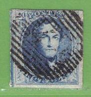 MiNr.4Bx O Belgien - 1849-1850 Medaillen (3/5)