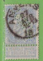 MiNr.55  O Belgien - 1893-1900 Schmaler Bart