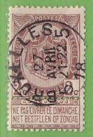 MiNr.60  O Belgien - 1893-1900 Schmaler Bart
