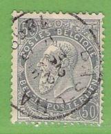MiNr.57  O Belgien - 1893-1900 Schmaler Bart
