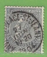 MiNr.68 O Belgien - 1893-1900 Schmaler Bart