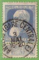 MiNr.73 O Belgien - 1905 Breiter Bart