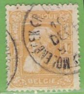 MiNr.76a O Belgien - 1905 Breiter Bart