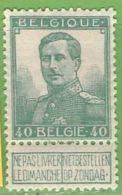 MiNr.95 (x) Belgien - 1905 Breiter Bart