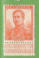 MiNr.97 (x) Belgien - 1905 Breiter Bart