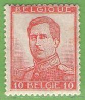 MiNr.101 I. (x) Belgien - 1905 Breiter Bart
