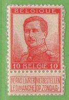 MiNr.101 II. (x) Belgien - 1905 Breiter Bart