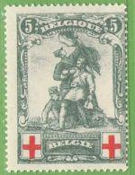 MiNr.104 (x) Belgien - 1905 Breiter Bart