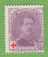 MiNr.109 (x) Belgien - 1905 Breiter Bart
