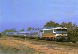 CMFM 088 - TGV Atlantique Remorqué La La Loco CC 72061 Vers LE PALLET - Loire Atlantique 44 - SNCF - France