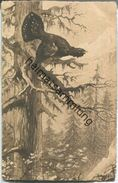 Jagd - Auerhahn - Künstlerkarte Ca. 1900 - Caccia