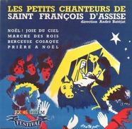 45 TOURS LES PETITS CHANTEURS DE SAINT FRANCOIS D ASSISE FESTIVAL 45 1217 NOEL JOIE DU CIEL / MARCHE DES ROIS / + 2 - Christmas Carols