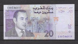 Billet De SM Le Roi Mohamed VI. 20 Dhs. (Voir Commentaires) - Marruecos