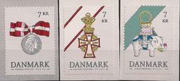2015 Dänemark Mi. 1830-2 **MNH     Dänische Orden - Unused Stamps