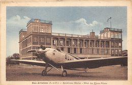 78-BUC- AVIATION- AERODROME BLERIOT- HÔTEL DES ELEVES- PILOTES - Buc