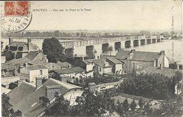 44   MAUVES  VUE  SUR  LE  PORT  ET  LE  PONT - Mauves-sur-Loire