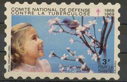 FRANCE -  CAMPAGNE NATIONALE CONTRE LA TUBERCULOSE 1968/69 - VIGNETTE (80X120MM) À 3F - Commemorative Labels